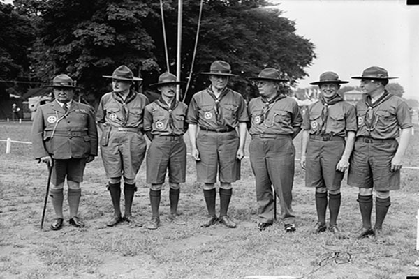 Past Boy Scouts Members