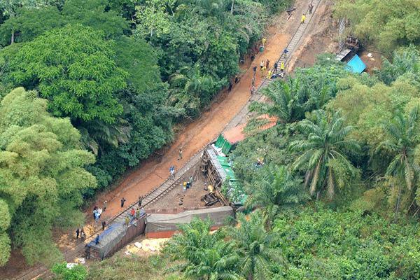 Congo Train Accident