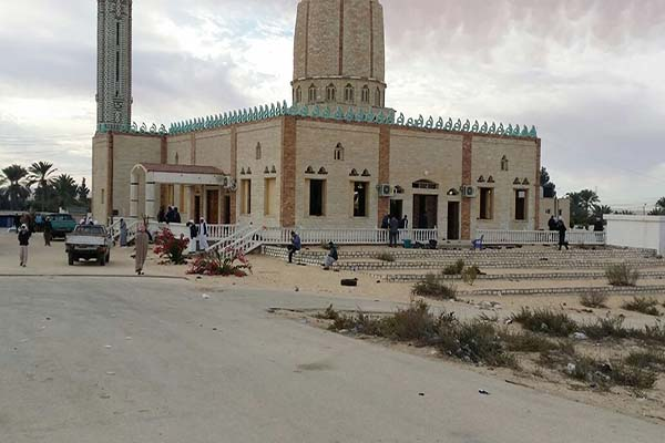 Egypt mosque that was attacked