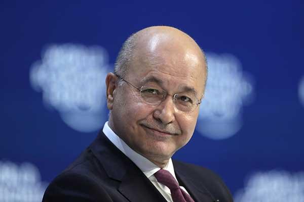 иракский президент