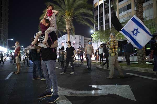 Протесты Израиля