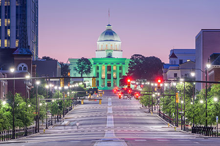 Major Cities Map Of Cuba, Montgomery Is The Capital Of Alabama State Capital Montgomery Largest City Birmingham, Major Cities Map Of Cuba