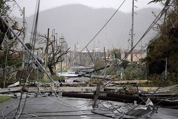 The Damage of Hurricane Maria in Puerto Rico