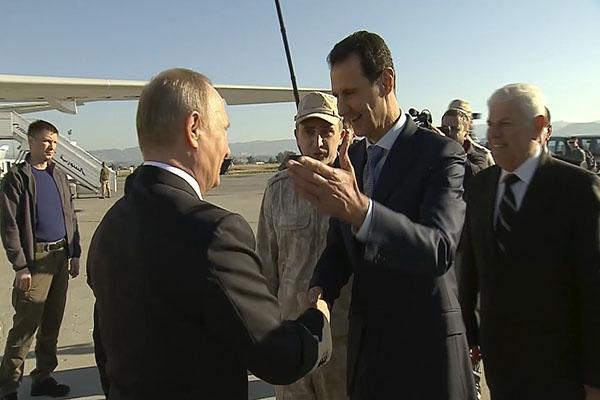 Putin in Syria