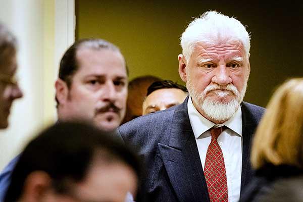 Croatia War Criminal