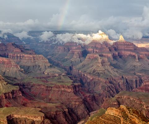 Grand Canyon by Tuxyso via Wikimedia Commons