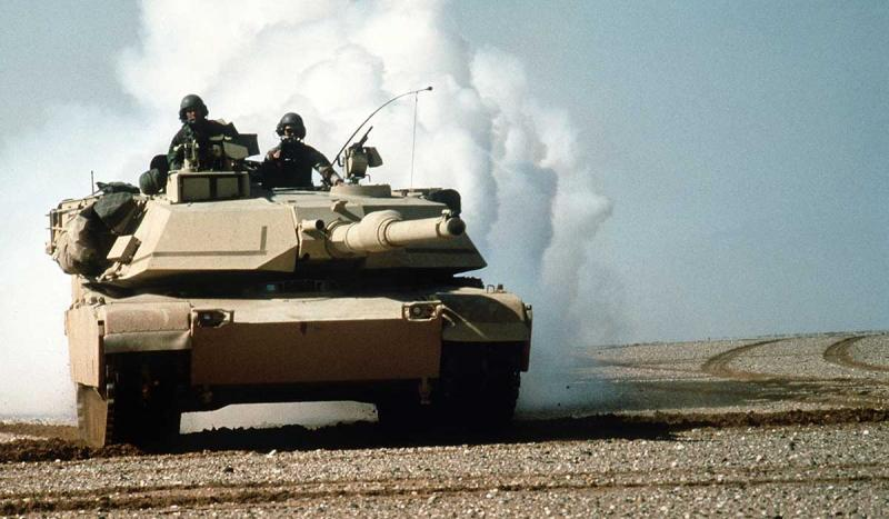 Operation Desert Storm was launched against Iraq.
