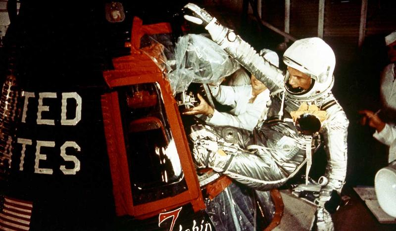 John Glenn became the first American to orbit Earth.