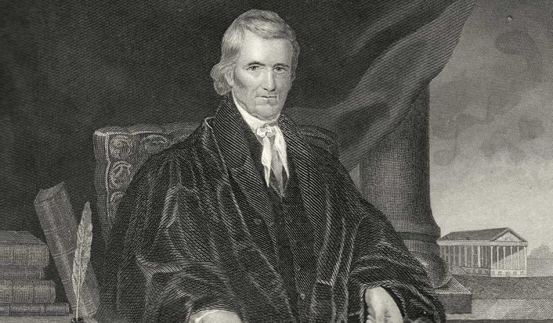 The Supreme Court ruled in Marbury v. Madison that any act of Congress which conflicts with the Cons