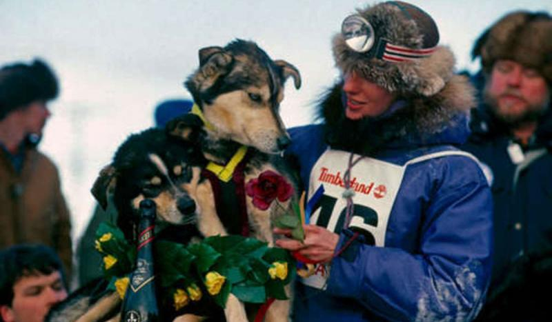 Libby Riddles became the first woman to win the Iditarod.