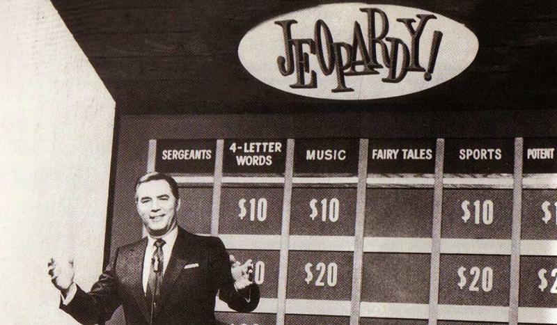 The game show Jeopardy debuted on television.