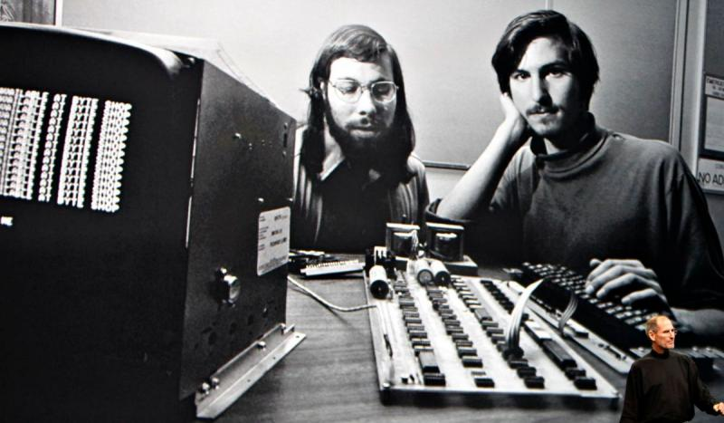 Steve Wozniak and Steve Jobs founded Apple Computer.