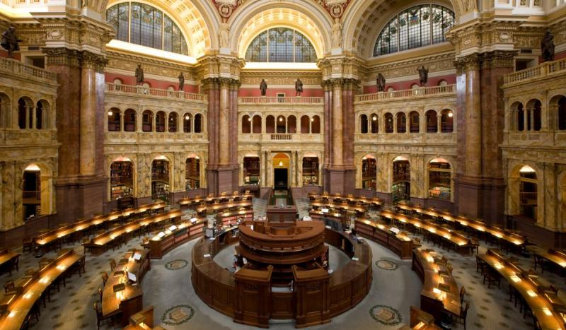 Library of Congress was established.