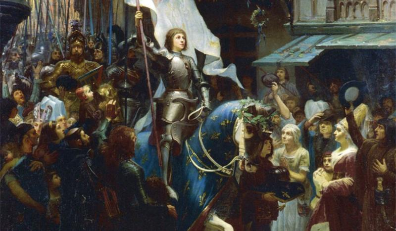 Joan of Arc entered the city of Orléans. She would end its months-long siege and would become k