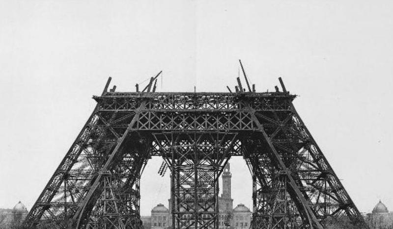 The Universal Exposition opened in Paris, marking the completion and dedication of the Eiffel Tower.