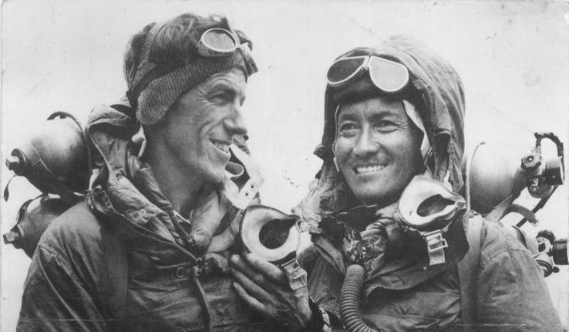 Edmund Hillary and Tenzing Norgay became the first to reach the summit of Mount Everest.