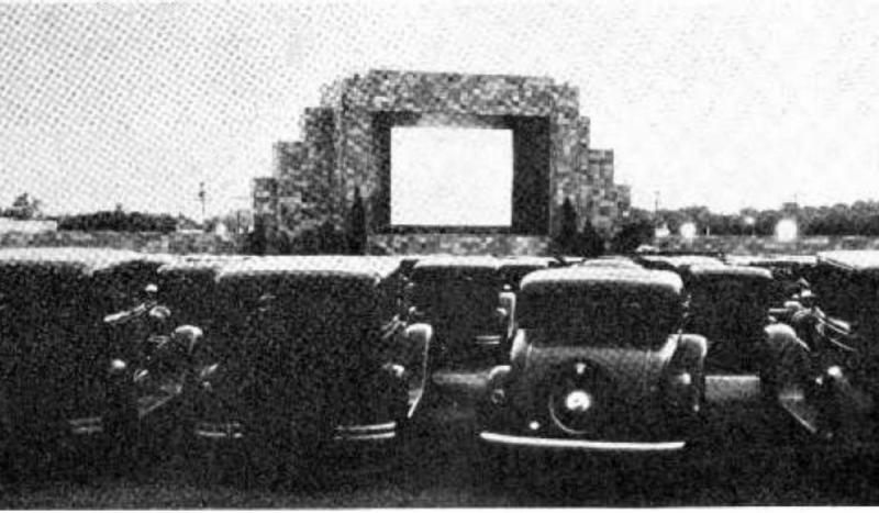 The first drive-in movie theater opened in Camden, New Jersey.