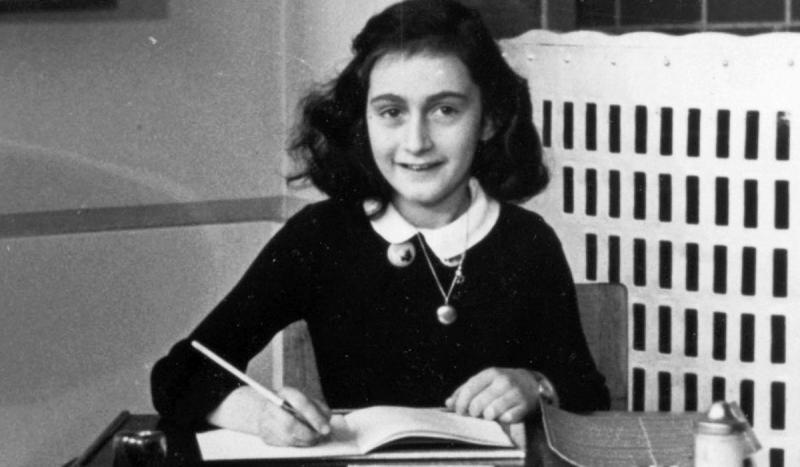 Anne Frank received a diary for her birthday.