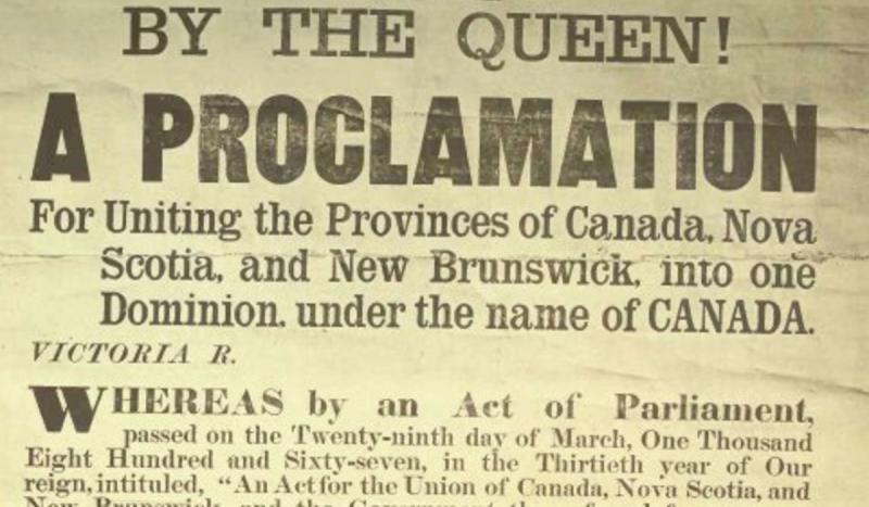 Canada became a self-governing dominion of Great Britain under the British North America Act.
