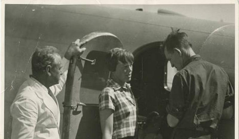 Amelia Earhart and her co-pilot Fred Noonan disappeared over the Pacific Ocean while attempting to