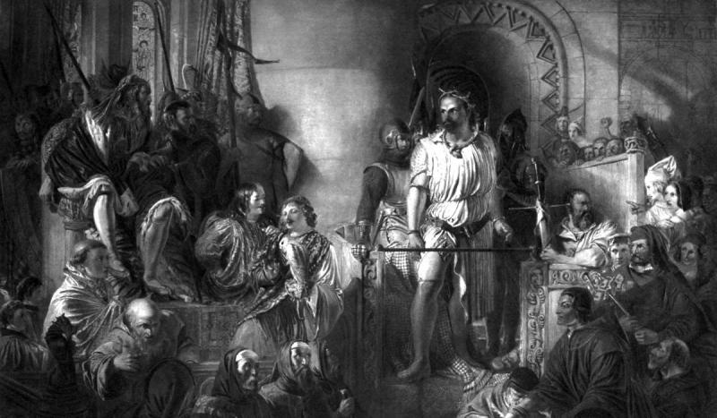 Scottish leader and national hero, William Wallace, was executed in London.