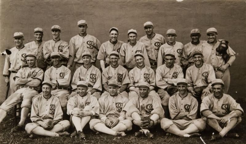 "Eight Chicago White Sox players were indicted for fixing the 1919 World Series in the ""Black Sox sca"