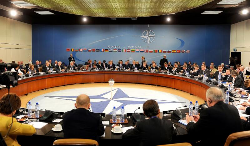 West Germany joined the North Atlantic Treaty Organization (NATO).