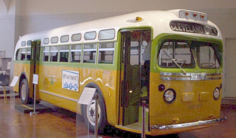 The Supreme Court struck down laws calling for racial segregation on buses.