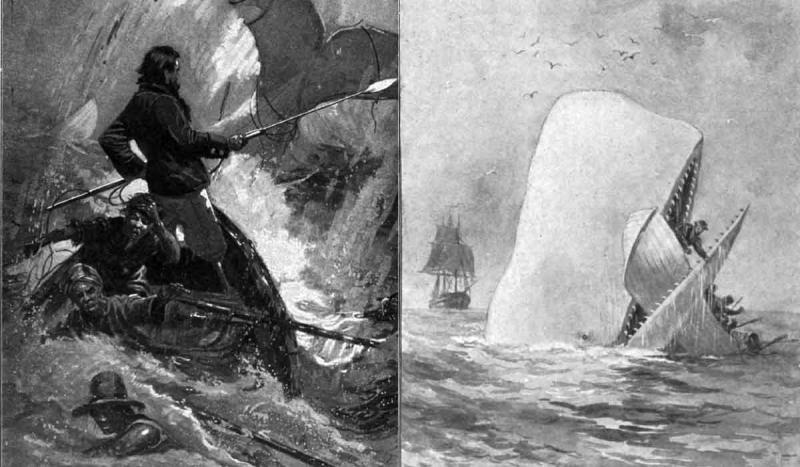 Herman Melville's novel Moby Dick was published.