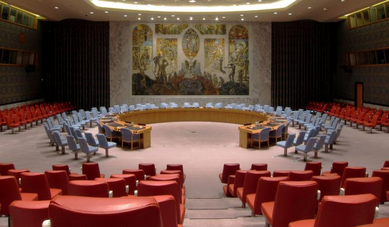 People's Republic of China was seated at the UN Security Council.