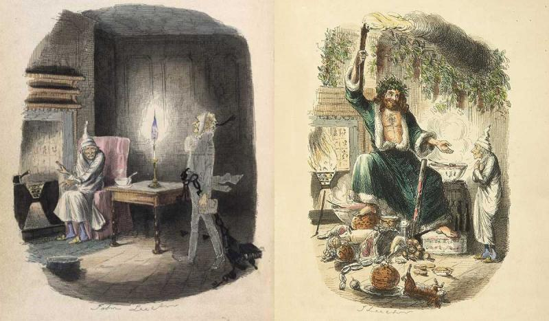 "Charles Dickens published ""A Christmas Carol."""