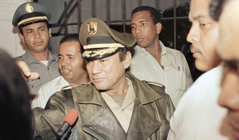 The United States invaded Panama and installed a new government but failed to capture General Manuel