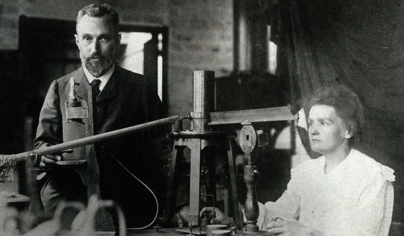 Pierre and Marie Curie discovered radium.
