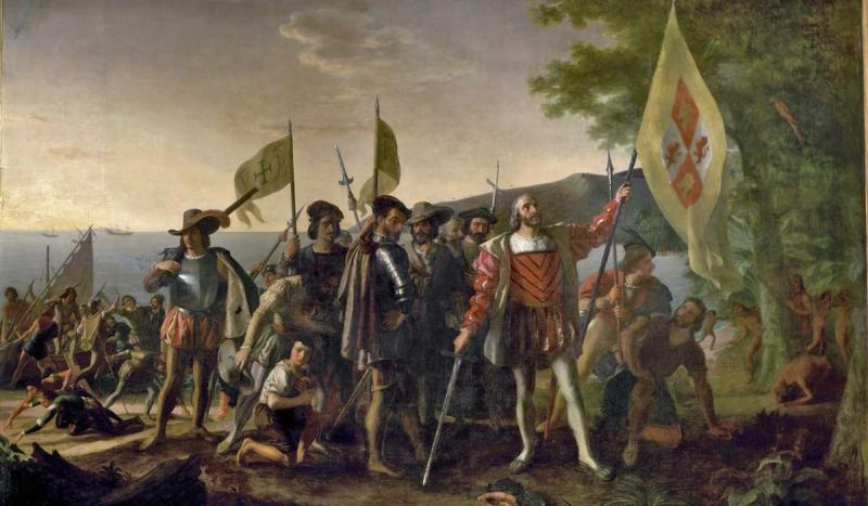 Christopher Columbus established the first Spanish settlement in the New World.